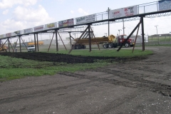 Work progresses at Boone Speedway with over 1,000 semi-sized loads of dirt being used for improvements on the track and throughout the grounds. The dirt and moving equipment were supplied courtesy of Wal-Mart and PCI.
