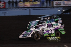 IMCA Northern SportMod action at Boone Speedway on Saturday, April 13, 2013.