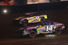 IMCA Stock Car action at Boone Speedway on Saturday, April 13, 2013.