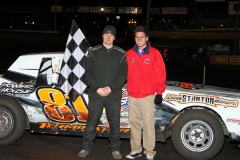 April 23, 2011, IMCA hobby stock winner at Boone Speedway was Devin Smith.
