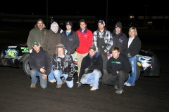 Boone Speedway hosted Michael Murphy in victory lane in the IMCA Hobby Stock class on Saturday, April 23, 2011.