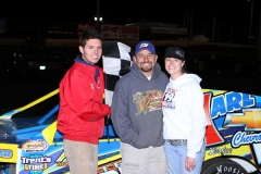 The IMCA Modified division saw Jimmy Gustin in victory lane at Boone Speedway on Saturday, April 30, 2011.