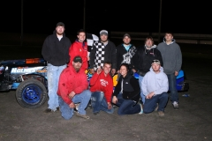 The IMCA Stock Car division welcomed Josh Brauckman to victory lane at Boone Speedway on Saturday, April 30, 2011.