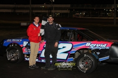 Wayne Gifford was champion in the IMCA Stock Car division during the 2013 Frostbuster at Boone Speedway on Saturday, April 6.