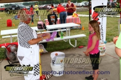Ditzy the Clown came to town for Family Fun Night at Boone Speedway on Saturday, August 10, 2013.