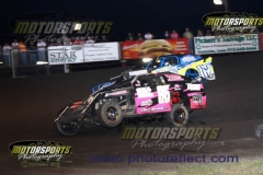 IMCA Northern SportMod action at Boone Speedway on Saturday, August 10, 2013.