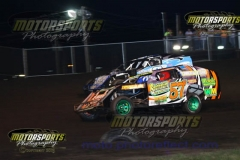 IMCA Modified action at Boone Speedway on Saturday, August 10, 2013.