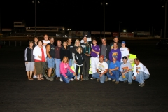 Matthew Meinecke motored his way to the front for his first ever IMCA Modified win at Boone Speedway on Saturday, August 13, 2011.