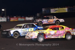 IMCA Stock Car action
