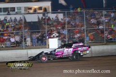 King of the Hill action at Boone Speedway on Saturday, August 17, 2013.