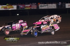 IMCA Northern SportMod action at Boone Speedway on Saturday, August 17, 2013.