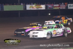 IMCA Stock Car action at Boone Speedway on Saturday, August 17, 2013.
