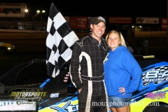 For the third time in 2013, Brandon Williams took the checkers in his IMCA Northern SportMod at Boone Speedway on Saturday, August 17, 2013.