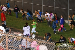 Sprinting to the candy: Saturday, August, 20, 2011 at Boone Speedway.