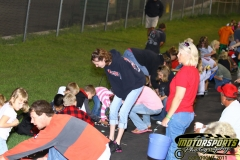 Saturday, August 20, 2011, was candy toss night at Boone Speedway.