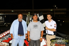 IMCA SportMod driver Brian Eppert took top honors on Saturday, August 20, 2011, at Boone Speedway.