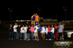 John Watson took the checkers on Saturday, August 20, 2011, in the IMCA Hobby Stock division at Boone Speedway.