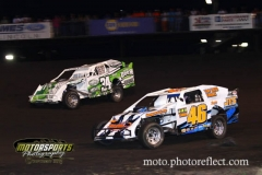 IMCA Northern SportMod action at Boone Speedway on Saturday, August 24, 2013.