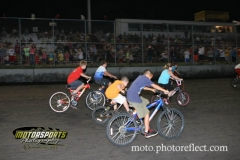 Kids bicycle races were on the card for events at Boone Speedway on Saturday, August 24, 2013.