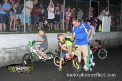 Racing Rascals shared their strategies to win the bike races at Boone Speedway on Saturday, August 24, 2013.