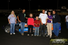 The IMCA SportMods saw Jeremy Embrey in victory lane on Saturday, August 27, 2011, at Boone Speedway.