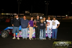 Mark Elliott motored his IMCA Modified to victory lane at Boone Speedway for the first time this season on Saturday, August 27, 2011.