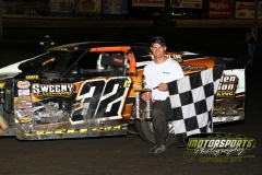 The IMCA Northern SportMods welcomed Ty Luellen to victory lane at Boone Speedway on Saturday, July 2, 2011.