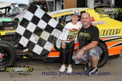 Racing Rascals have a great time with their favorite drivers at Boone Speedway.