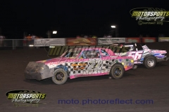 IMCA Hobby Stock action at Boone Speedway on Saturday, July 20, 2013.