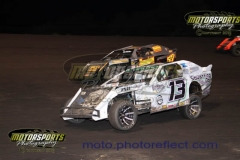 IMCA Northern SportMod action at Boone Speedway on Saturday, July 20, 2013.