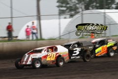 Boone racing action from Saturday, July 23, 2011.