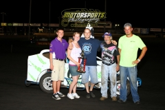 The Boone Mod Lite feature win went to Joel Keenan on Saturday, July 23, 2011.