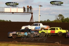IMCA Hobby Stock action at Boone Speedway on Saturday, July 27, 2013.