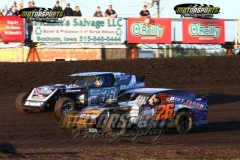 IMCA Northern SportMod action at Boone Speedway on Saturday, July 27, 2013.