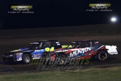 IMCA Stock Car action at Boone Speedway on Saturday, July 27, 2013.