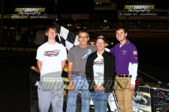 Ed Zehm took home his second win of the season at Boone Speedway in his Mod Lite on Saturday, July 27, 2013.-zehm_modlite