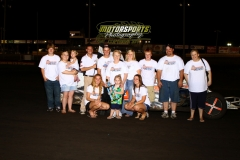 Daniel Tasler took top spot in the IMCA SportMods at Boone Speedway for the second week in a row on Saturday, July 30, 2011.