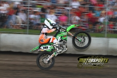 Motocross action during the Eve of Destruction at Boone Speedway on Monday, July 4, 2011.