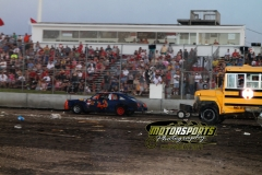 With trailers in tow, these racers had fun during the Eve of Destruction at Boone Speedway on Monday, July 4, 2011.