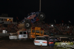 Crunch time at Boone Speedway during the Eve of Destruction on Monday, July 4, 2011.