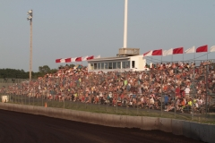 Full Grandstands at the Eve of Destruction