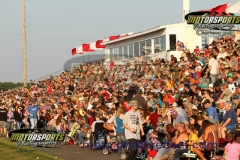 A full house was on hand for the Eve of Destruction at Boone Speedway on Thursday, July 4, 2013.