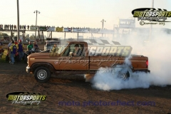 Burn out contest at the Eve of Destruction at Boone Speedway on Thursday, July 4, 2013.
