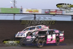 IMCA Northern SportMod action during the eve of destruction at Boone Speedway on Thursday, July 4, 2013.