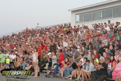 It was a full house during fan appreciation night at Boone Speedway on Saturday, July 6, 2013.