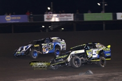 IMCA Northern SportMod Action at Boone Speedway on Saturday, July 6, 2013.