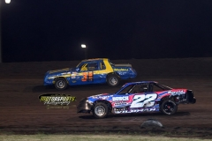 IMCA Stock Car action at Boone Speedway on Saturday, July 6, 2013.