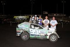 Josh May, Mod-Lite Winner on July 7, 2012