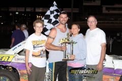 Stock Car July 7, 2012 Winner Jay Schmidt