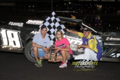 Jake Durbin 3-peats in IMCA Modifieds